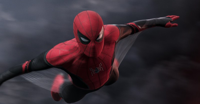 Spider-Man (Tom Holland) in Spider-Man: Far From Home