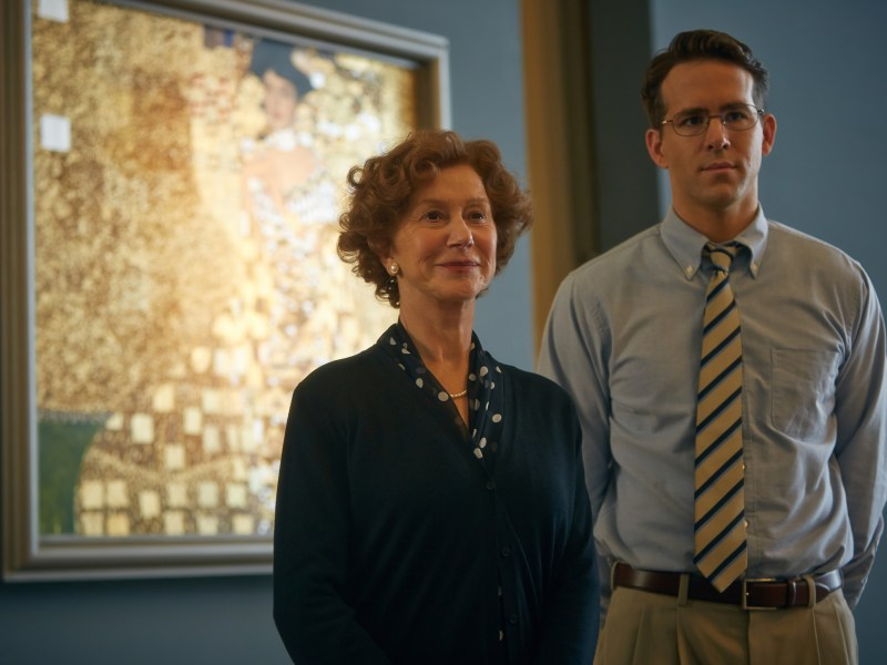 Helen Mirren and Ryan Reynolds star in Woman in Gold.