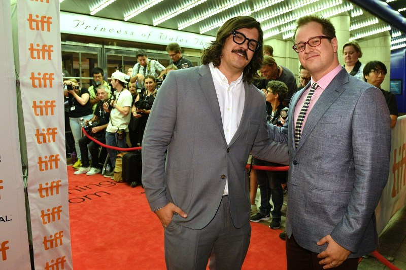 "Brian C. Brown and Elliott DiGuiseppi attend the ""Lucy In The Sky"" premiere during the 2019 Toronto International Film Festival at Princess of Wales Theatre on September 11, 2019 in Toronto, Canada."