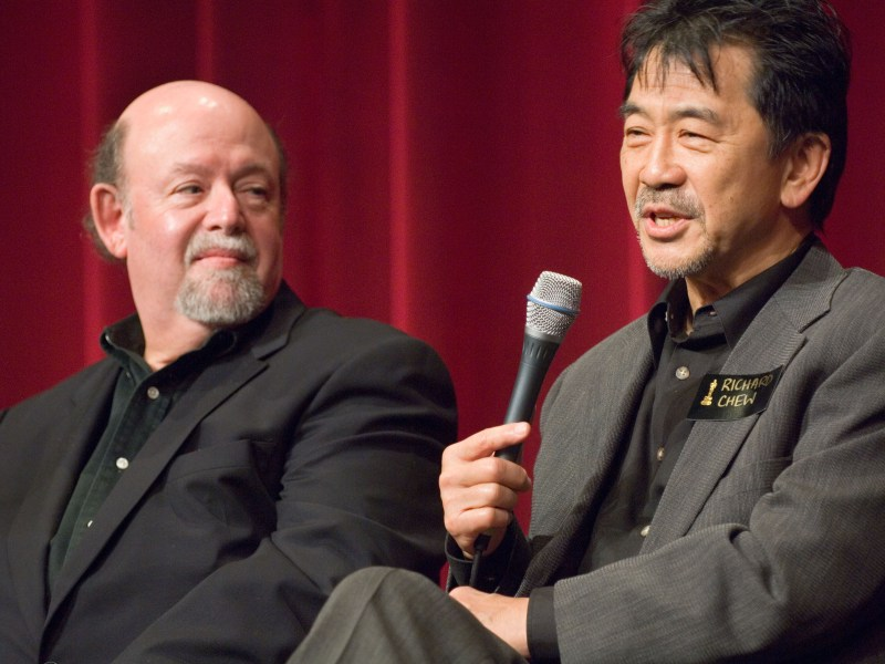 Film Editors Paul Hirsch and Richard Chew