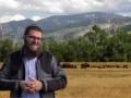 Rabbi Chaim Bruk in The Rabbi Goes West.