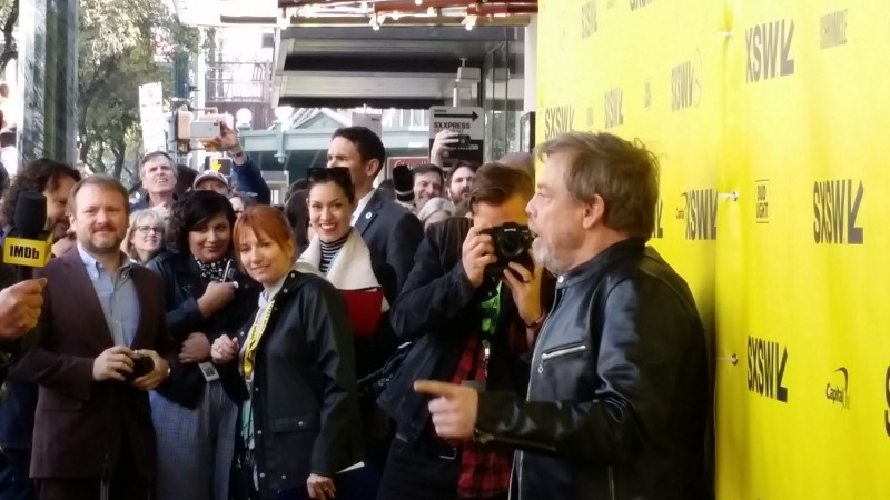 Mark Hamill attends the world premiere of The Director and The Jedi at the 2018 SXSW Film Festival.