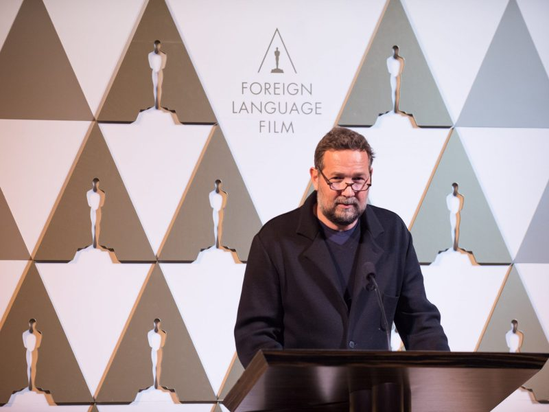 Cinematographer Phedon Papamichael at the reception for the Foreign Language Film Award category for the 86th Oscars on Friday, February 28, 2014/
