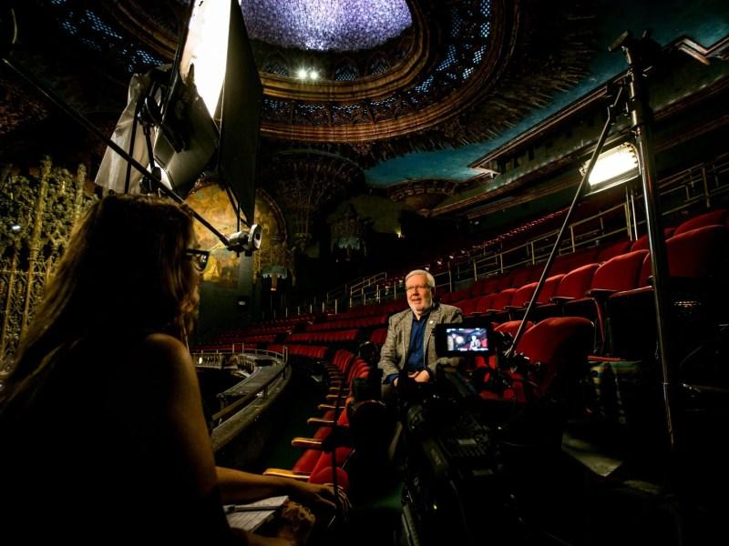 April Wright interviews Leonard Maltin at the Ace UA
