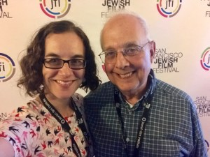 Amy Geller and Gerald Peary, filmmakers of The Rabbi Goes West
