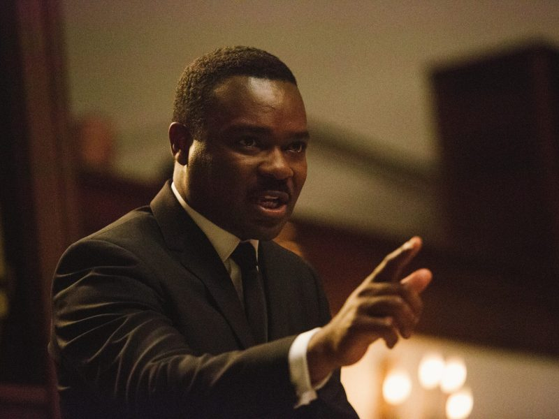 David Oyelowo plays Dr. Martin Luther KIng Jr. in Selma