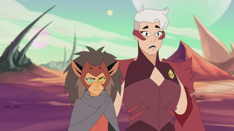Catra and Scorpia in She-Ra and the Princesses of Power.