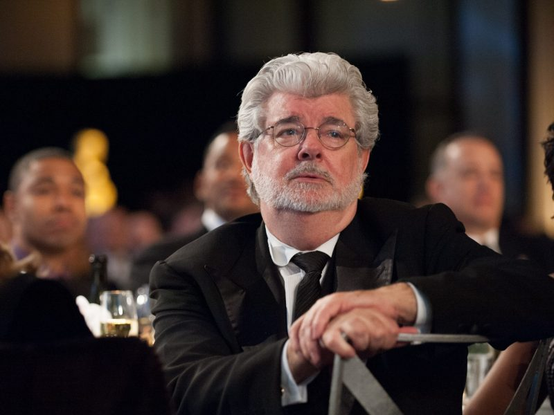 George Lucas during the 2012 Governors Awards.