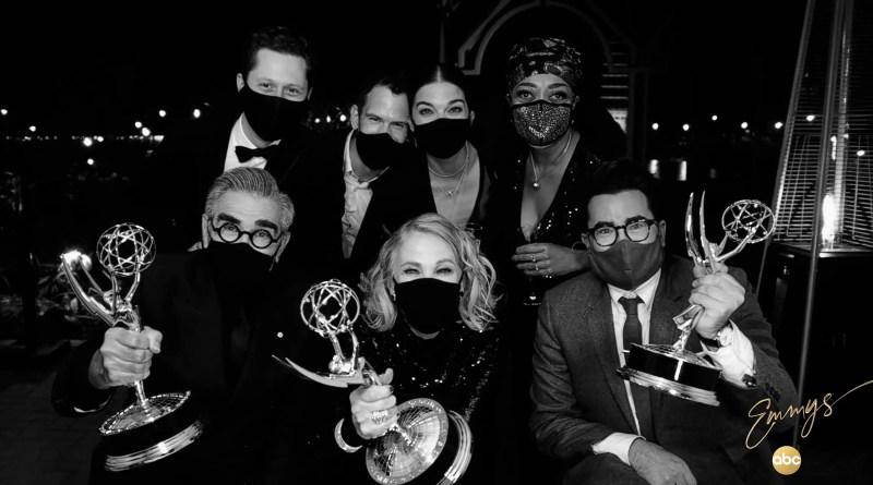 Schitt's Creek wins big at The 72nd Emmys
