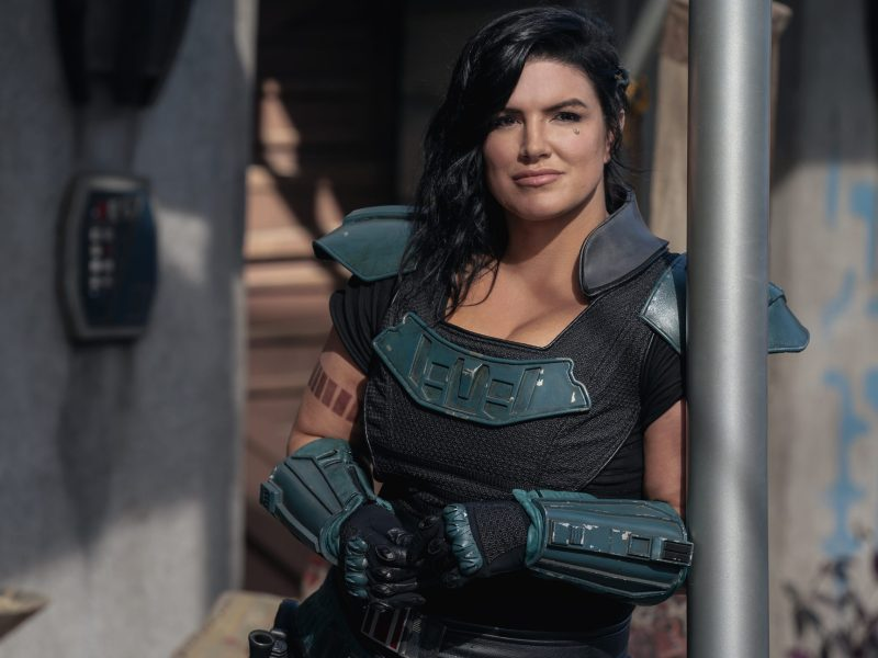 Gina Carano is Cara Dune in The Mandalorian
