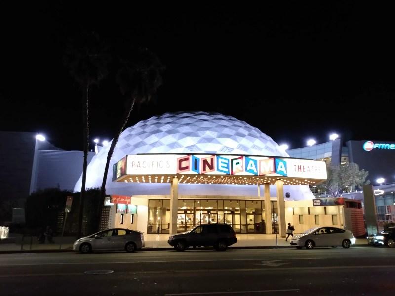 Cinerama Dome, movie theater, movie theaters
