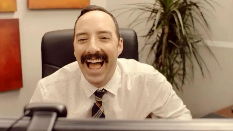 Tony Hale as Sid Straw in Eat Wheaties!