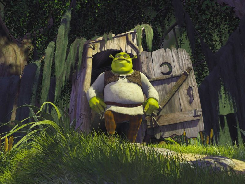 Mike Myers as Shrek