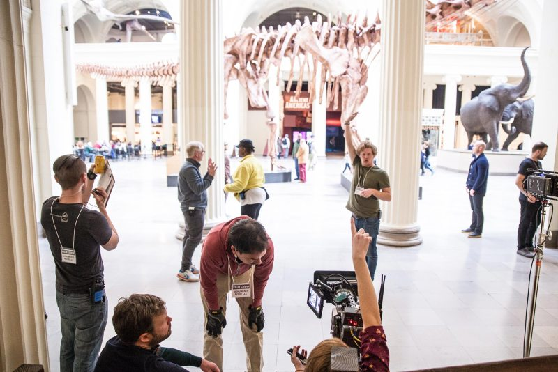 The Field Museum - BTS of Monuments