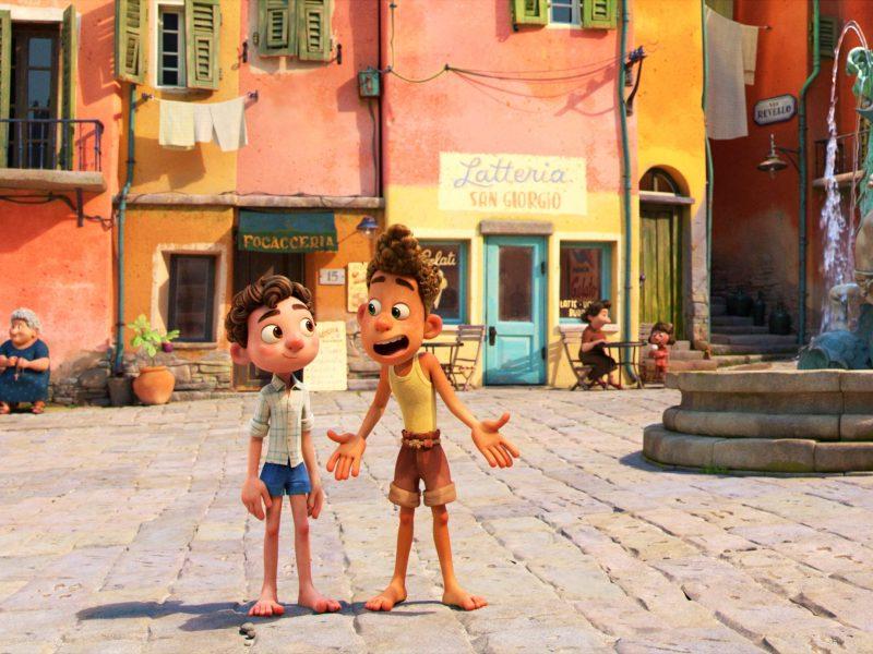 Disney and Pixar, Luca
