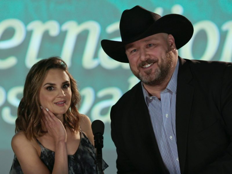 Rachael Leigh Cook and Will Sasso in Film Fest