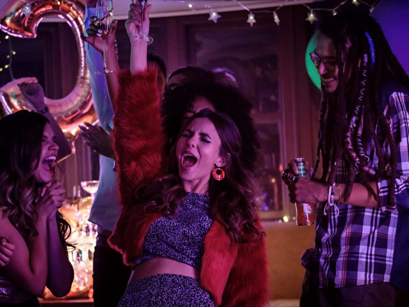 Victoria Justice in Afterlife of the Party