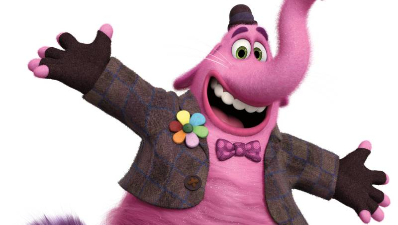 Richard Kind voices Bing Bong in Inside Out.