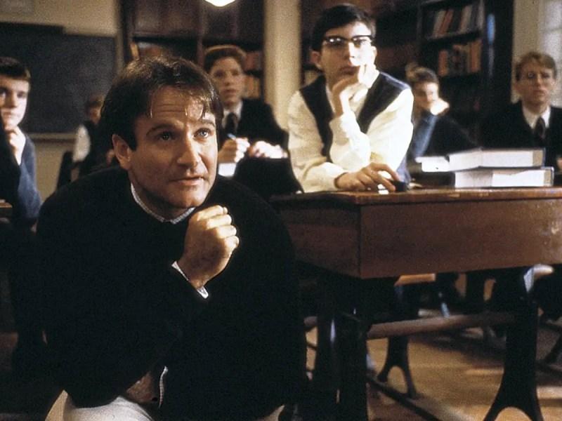 Robin Williams in Dead Poets Society