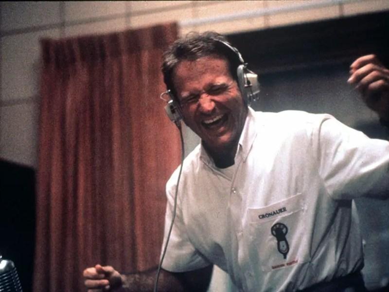 Robin Williams in Good Morning, Vietnam. Good Morning Vietnam