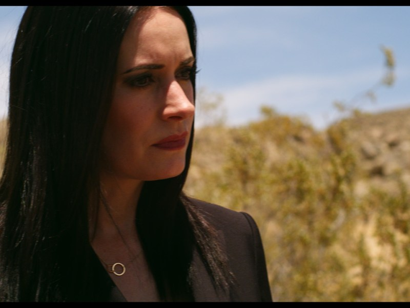 Paget Brewster in Welcome to Happiness
