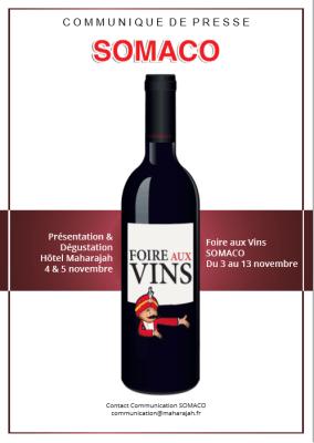 communiqué foire aux vins