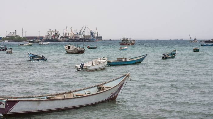 The seaside town of Berbera is slowly transforming as it takes on a major role on the Red Sea shipping route © AFP