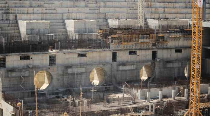 Ethiopia's Grand Renaissance Dam, which is under construction, is a source of anger for Egypt. EPA-EFE/STR