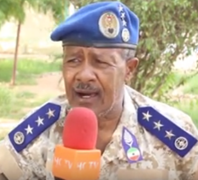 Brig. Gen Abdurrahman Liban Foole, the deputy commissioner of Somaliland police force