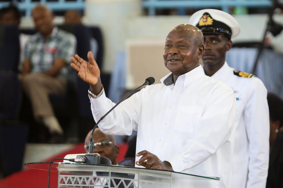 President Yoweri Museveni of Uganda has engineered constitutional changes that could see him rule for life. Daniel Irungu/EPA-EFE