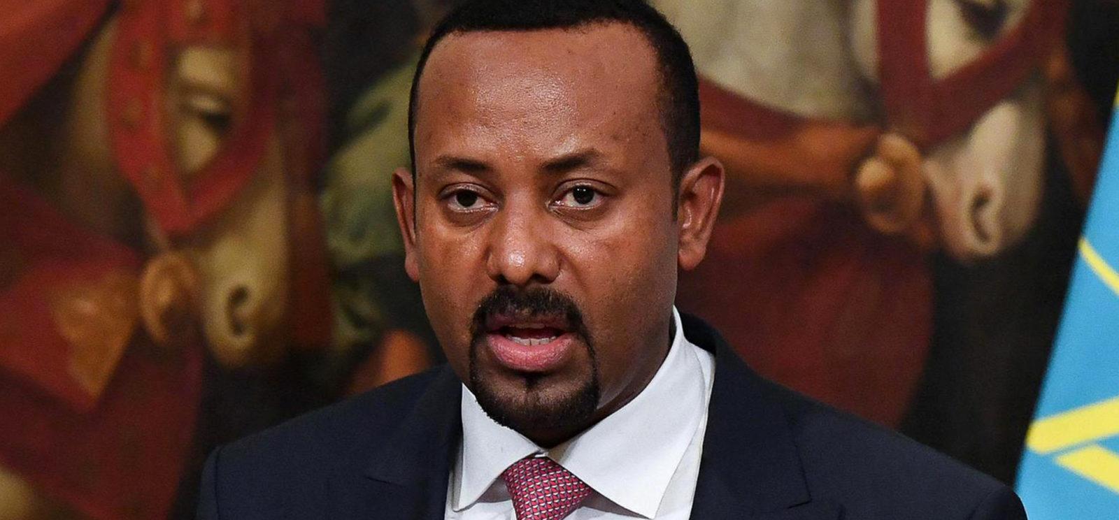 Ethiopian Prime Minister Abiy Ahmed Ali, the 2019 Nobel Peace Prize laureate. (Photo: EPA-EFE / Alessandro de Meo)