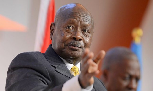 President Yoweri Museveni 640x381