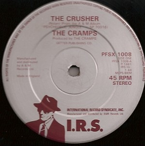 CrampsCrusher, The Cramps, Kid Congo Powers, Lux Interior, Ivy Rorschach