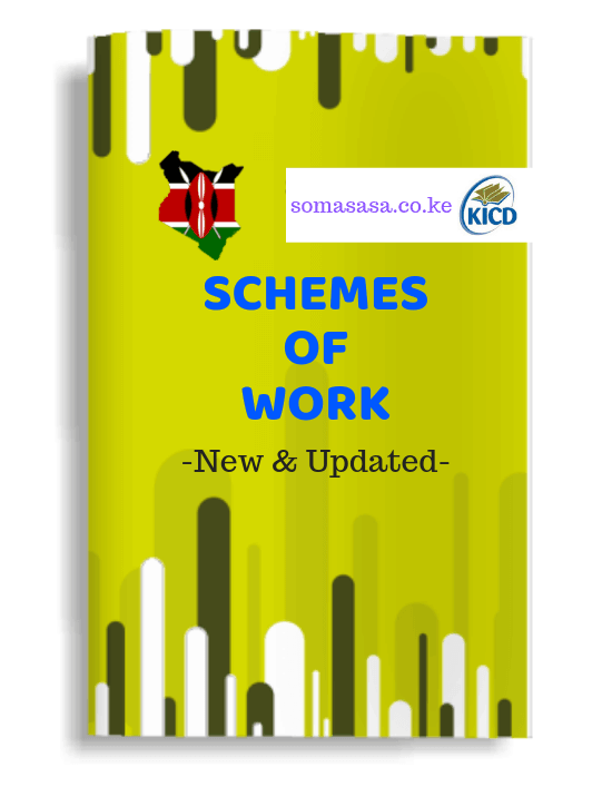 Grade 2 CBC Schemes of Work in Kenya