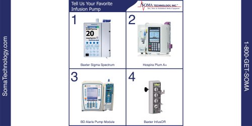 Tell us Your Favorite Infusion Pump - Soma Technology, Inc.