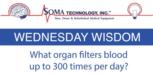 Wednesday Wisdom Organ Blood Filtration - Soma Technology, Inc.