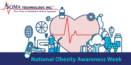 National Obesity Awareness Week - How to change your lifestyle - Soma Technology, Inc.