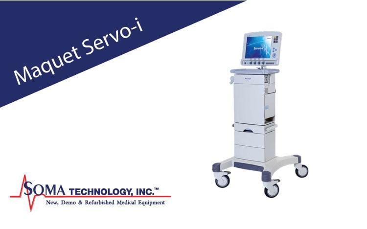 Maquet Servo-i - Ventilator - Soma Technology, Inc.