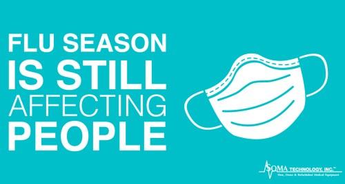 Flu Season Is Still Affecting People - Soma Technology, Inc.