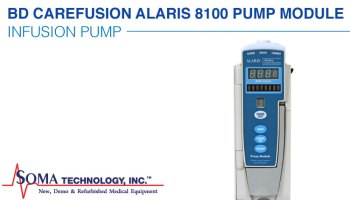 Alaris CareFusion Cardinal BD 8100 Infusion Pump Module