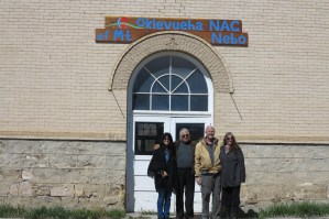 ONACS Elders Dr. Anthony and Julie James with James Flaming Eagle Mooney