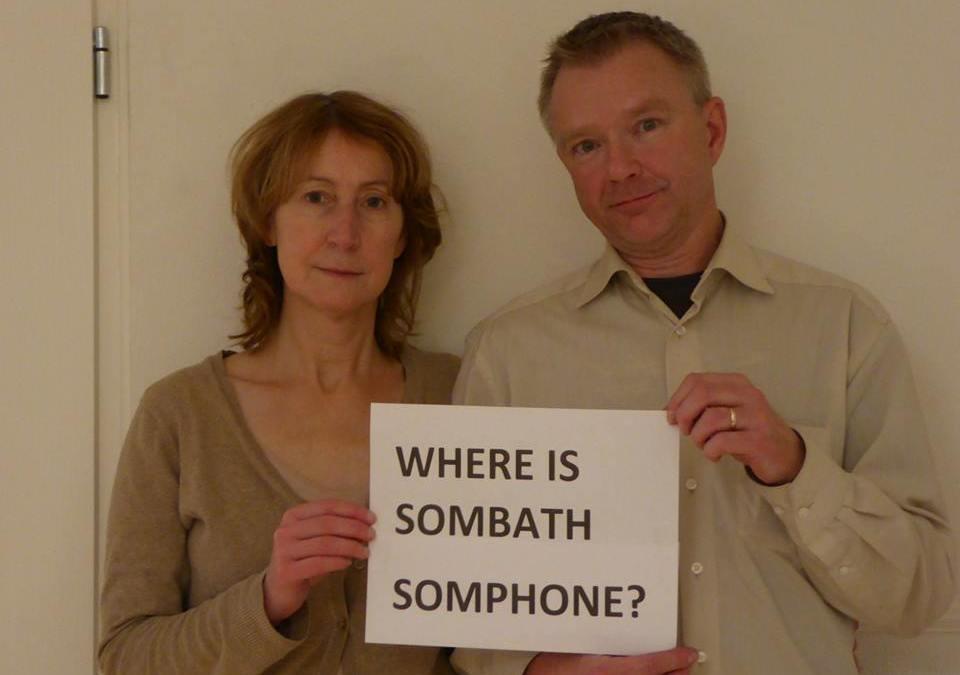 Dear Sombath…from Frank Bron