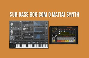 RAP Beat de TRAP: Criando Sub Bass de 808 com Sintetizador