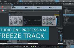 Como fazer Freeze Track com Studio One Professional
