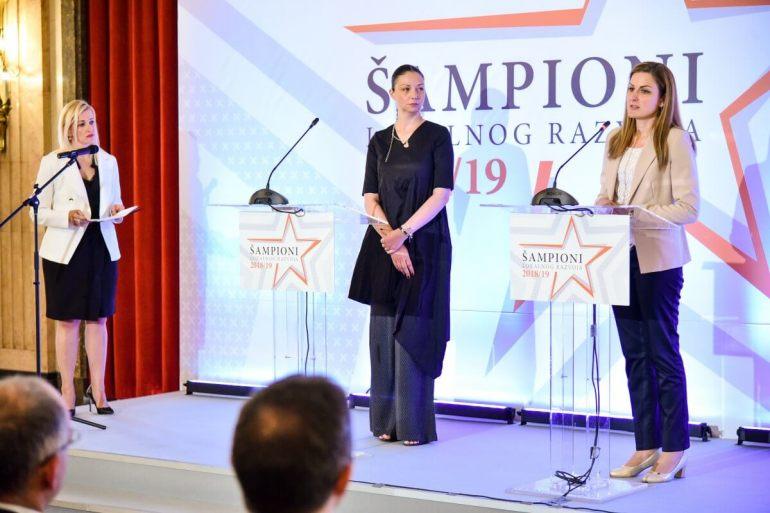 Градоначелница Сомбора Душанка Голубовић наводи примере добре праксе