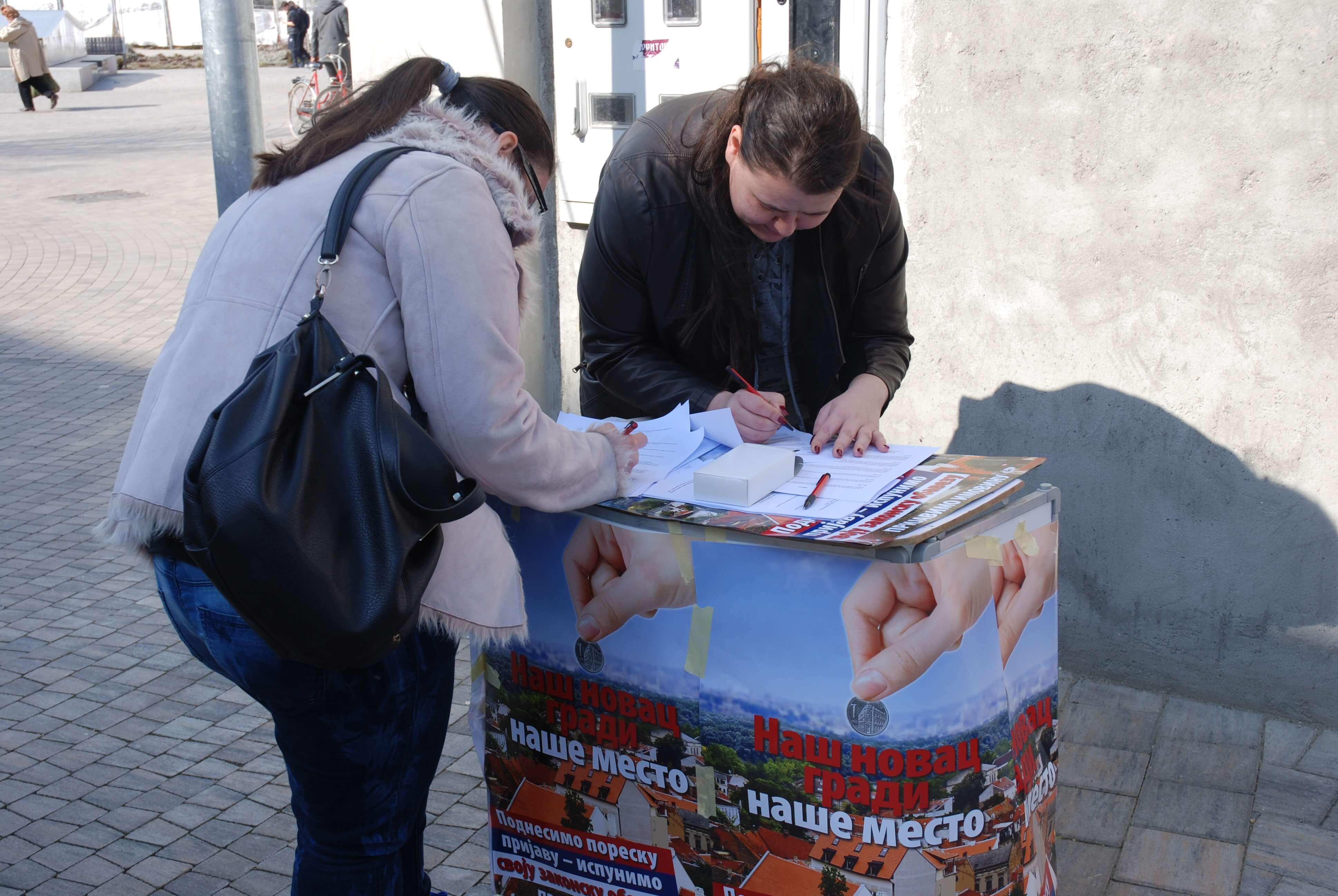 Анкетирање грађана о упознатости са Акционим планом реформе пореза
