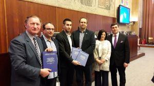 Заменику градоначелнице Сомбора Антонију Ратковићу уручена је студија за три потенцијална локалитета за развој бањског туризма на територији града Сомбора