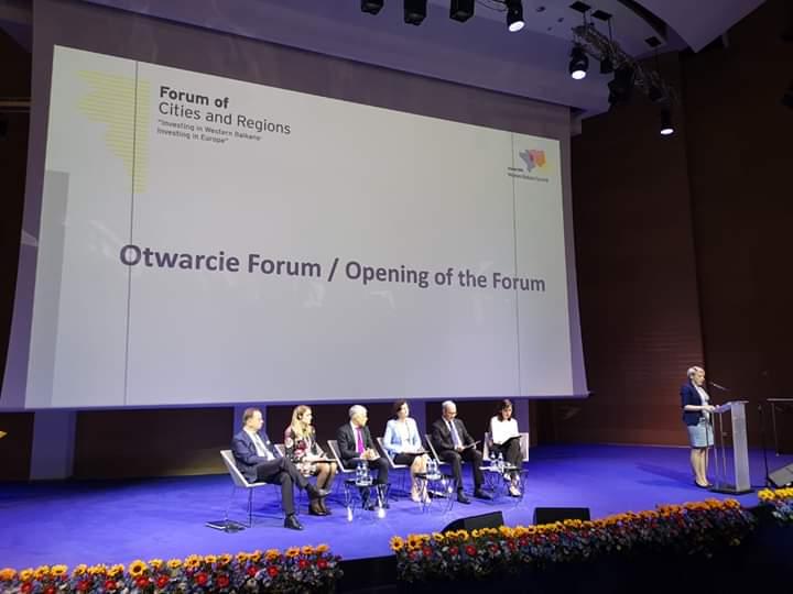 """Отварајућа конференција Форуму градова и региона """"Инвестирање у Западни Балкан – Инвестирање у Европу"""""""