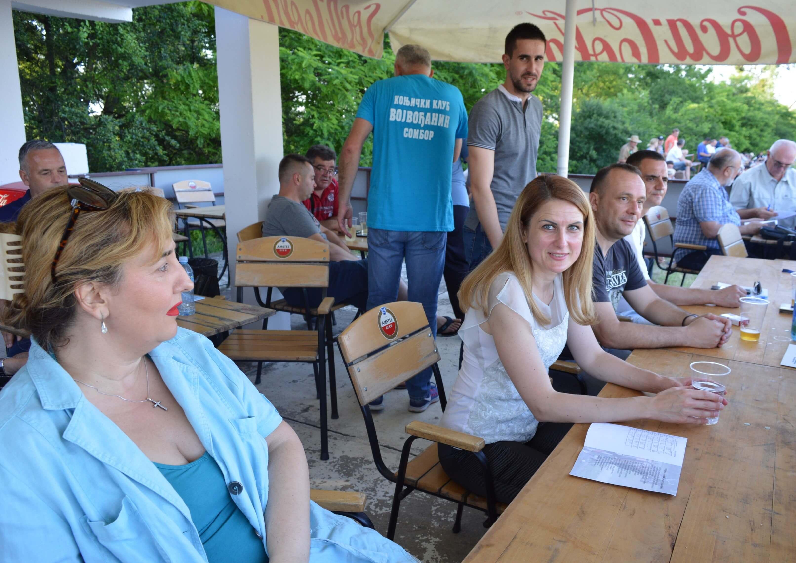 Градоначелница Душанка Голубовић са инвеститором и извођачем радова