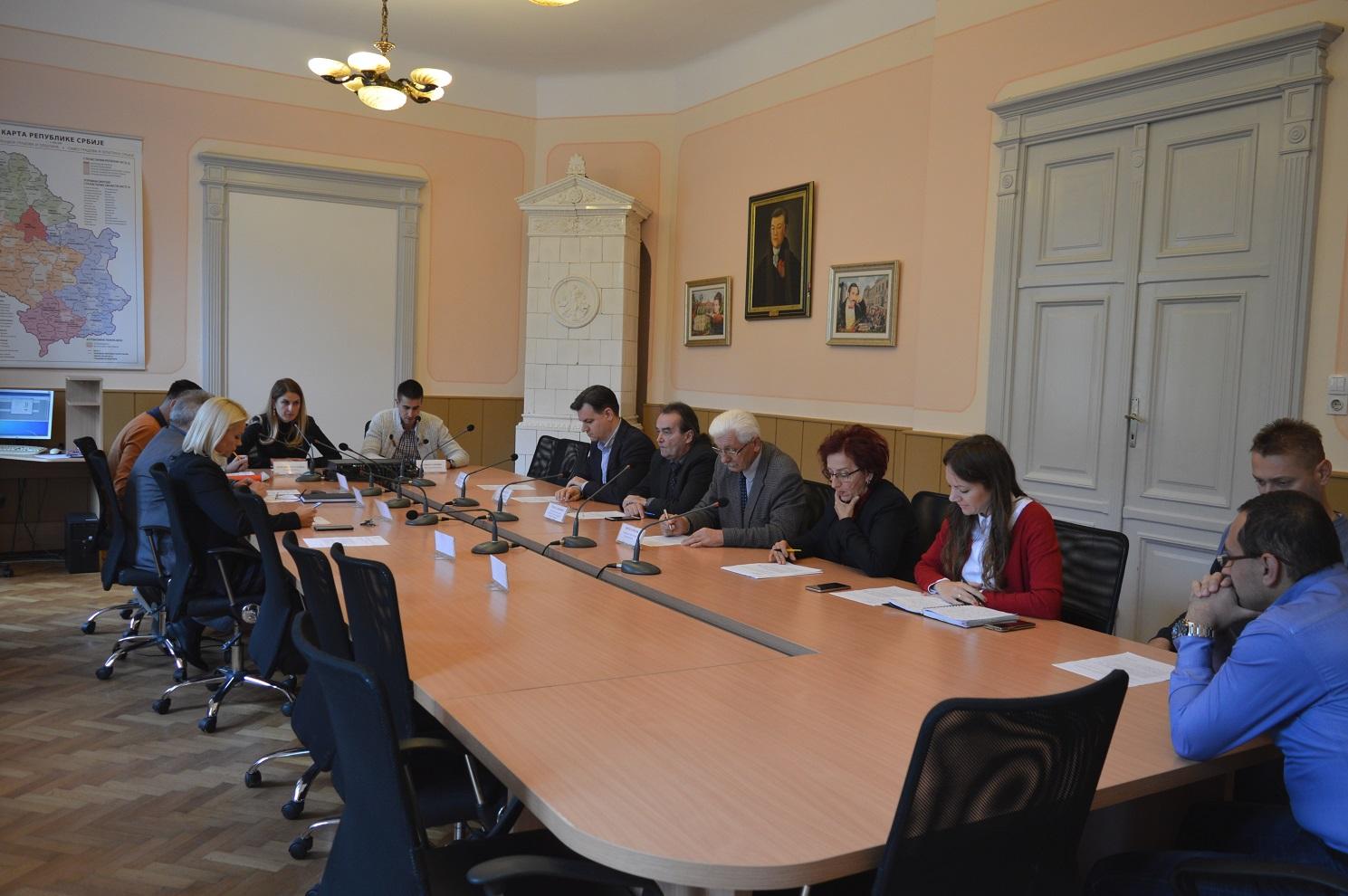 Председница Скупштине града Сомбора Љиљана Тица и заменик градоначелнице Антонио Ратковић уприличили су пријем за госте